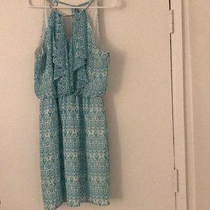 Flirty short dress